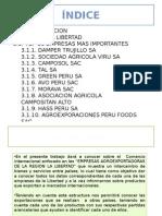 Analisis de Las Empresas y Exportaciones de La Region Libertad