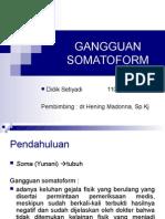 PPT Gangguan Somatoform