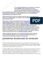 DICTADURA, CARUPANAZO