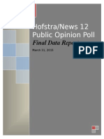 March 31 Hofstra/News 12 Report