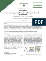 Consideratții Privind Factorii Ce Influanteaza Procesele de Biolixiviere