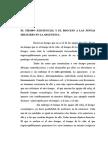 El Tiempo Existencial y El Proceso a Las Juntas Militares en La Argentina