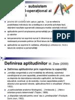 Psihologia Personalitatii Aptitudinile Curs 4
