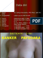 Penyuluhan Deteksi Kanker Payudara