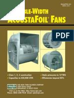 Entrada y Ancho Doble ventiladores
