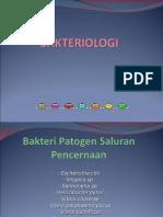 Bakteri Patogen Saluran Pencernaan Ppt