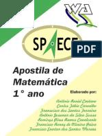 Apostila de Matemática 1° ano - SPAECE