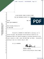 Tasker v. United Airlines, Inc. et al - Document No. 6