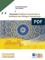 Dimension I.4 Politique Commerciale Et Facilitation Des Echanges Commerciaux Avec Couverture
