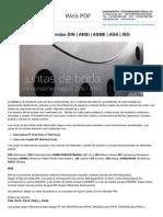 Erica.es-dimensiones Juntas Bridas DIN ANSI ASME ASA ISO