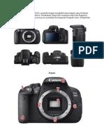 Panduan Kamera DSLR