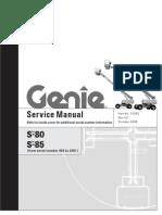 Genie S85 Service Manual
