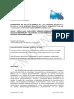 Formación de Investigadores en Fenomenología Hermeneutica