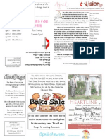 Apr '15 Newsletter
