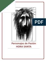 Personajes de La Pasion