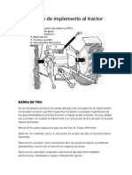 Acople de Implemento Al Tractor