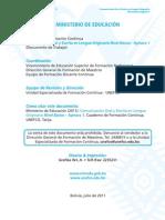 Comunicación Oral y Escrita en Lengua Originaria Nivel Básico - Aymara 1