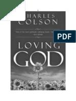 Colson - Amando a Dios