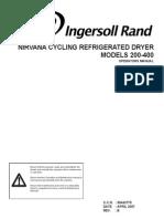 Manual de Secadoras Nirvana 200 - 400 NVC400A400