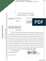 Oncology Therapeutics Network Corporation v. Virginia Hematology Oncology PLLC et al - Document No. 8