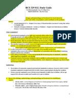 SGL Case 31 - Study Guide