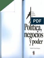 Nuevo Aeropuerto Internacional de la Ciudad de México. Política, negocios y poder.