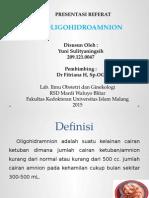 oligohidroamnion