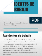 Accidentes de Trabajo y Tipos de Accidentes (2)