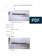 Dados Experimento 1_Propriedades Mecanicas e Termicas