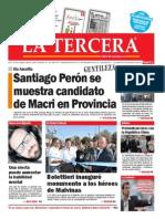 Diario La Tercera 07.04.2015