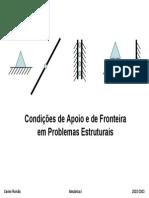 Pontes - Tipos de Apoios