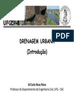 Drenagem Urbana - Introdução Ufg-cac