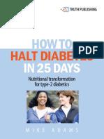 Halt Diabetes