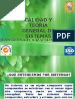 Calidad y Teoria General de Sistemas