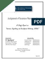 Insurance Management Assignment