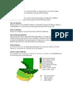 7 Biomas de Guatemala