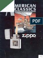 1992 Zippo Lighter Full Line Catalog