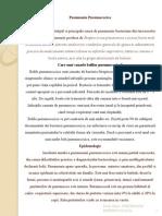 Pneumonia Pneumococica Prezentare Pps