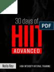 High Intensity Training-Advanced