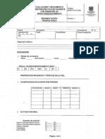 RHB-FO-410-004 Evaluación y Seguimiento Fisioterapeutico en Paciente Con Sindrome de Desacondicionamiento