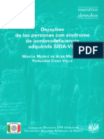 DERECHOS DE LAS PERSONAS CON SIDA