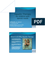 122_Aquatic Therapy for Children With Special Needs_PowerPoint