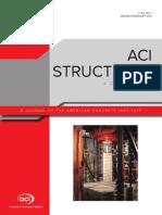 Aci Structural Journal Jan.-feb. 2015 v. 112 No. 01