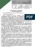 Decreto Supremo Nº 007-2013-TR-07-08-13