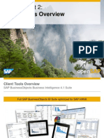 OpenSAP Bifour2 Week 1 Unit 2 ClientTools Presentation