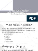 south asia project