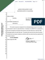 Horne v. Southwest Airlines Co. - Document No. 5
