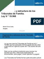 Org. y Estructura Tirbunales de Familia