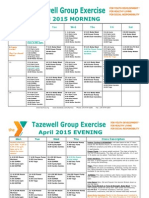 Tazewell April 2015 Group Exercise