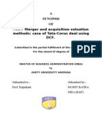 valuation project.docx